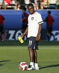 06 July 2007: USA's Freddy Adu. The Under-20 Men's National Team of the United States defeated Brazil's Under-20 Men's National Team 2-1 in a Group D opening round match at Frank Clair Stadium in Ottawa, Ontario, Canada during the FIFA U-20 World Cup Canada 2007 tournament.