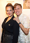 "Jacqueline Novak and John Early attends the Off-Broadway Opening Night of ""Jacqueline Novak: Get On Your Knees"" at the Cherry Lane Theatre on July 22, 2019 in New York City."