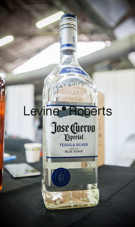 A bottle of Jose Cuervo Especial Tequila Silver in New York on Thursday, April 21, 2016. The over 200 year-old Mexican Jose Cuervo is reported to be preparing for an initial public offering which could raise almost $750 million. (© Richard B. Levine)