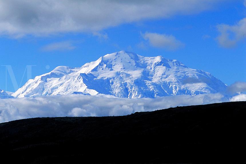 Mt. McKinley, Denali National Park. Alaska United States Denali National Park.