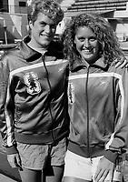 1990: Aimee Berzins, Suzy Buckovich.