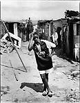 "Thembisa ""Portia"" Mtokwana (23), Gunguletu Township, Cape Town, South Africa, 1998"