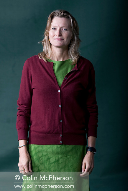 American novelist and short story writer Jennifer Egan, pictured at the Edinburgh International Book Festival where she talked about her award-winning work. The three-week event is the world's biggest literary festival and is held during the annual Edinburgh Festival. The 2011 event featured talks and presentations by more than 500 authors from around the world.