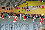 Action from the Senior Mens final in a packed Castleisland Community Centre at St Mary's Basketball blitz in Castleisland on Thursday