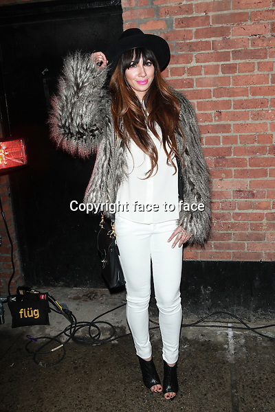NEW YORK, NY - FEBRUARY 10: Jackie Cruz attends the alice + olivia by Stacey Bendet Fall 2014 presentation during Mercedes-Benz Fashion Week Fall 2014 at The McKittrick Hotel on February 10, 2014 in New York City. <br />