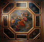 20060213 - France - Vincennes<br />COULISSES DU CHATEAU DE VINCENNES : LE PLAFOND DE LA CHAMBRE MAZARIN<br />Ref: COULISSES_DU_CHATEAU_001 - © Philippe Noisette
