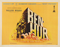 Ben-Hur (1959) <br /> Lobby card<br /> *Filmstill - Editorial Use Only*<br /> CAP/KFS<br /> Image supplied by Capital Pictures