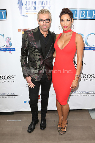 BEVRLY HILLS, CA - MAY 10: Chaz Dean and Nicole Murphy at the 88th Annual Mother's Day Luncheon and Fashion Show at the Beverly Wilshire Four Seasons Hotel in Beverly Hills, California on May 10, 2017. Credit: Faye Sadou/MediaPunch
