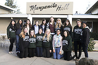 The Harker School - US - Upper School - Global Education - Harker hosts 9 girls and 2 chaperones from the Colle'ge de Gamback in Switzerland, a strong secondary school in Fribourg, Switzerland - Photo by Kyle Cavallaro