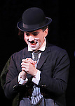 Rob McClure during the Curtain Call and check presentation to The Lil' Bravest Charity Inc. at 'Chaplin' at the Barrymore Theatre in New York City on 11/09/2012