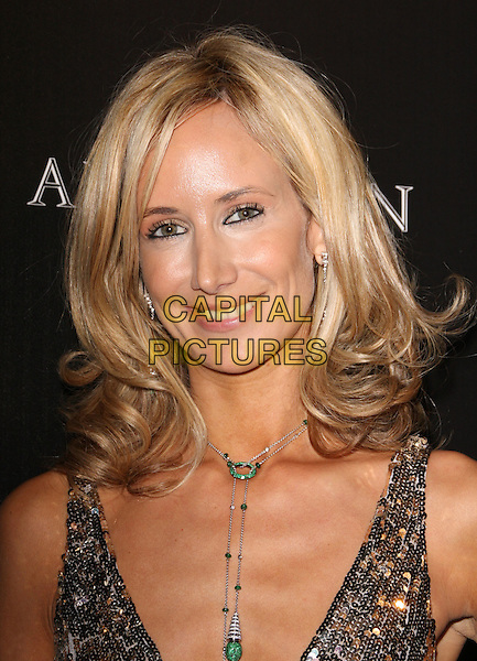 "LADY VICTORIA HERVEY.""The Avakian Boutique"" Grand Opening held at The Beverly Wilshire Hotel, Beverly Hills - California, USA..December 4th, 2008.headshot portrait necklace black gold sequins sequined beads beaded .CAP/ADM/KB.©Kevan Brooks/AdMedia/Capital Pictures."