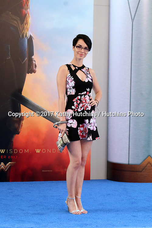 "LOS ANGELES - MAY 25:  Pamela Horton at the ""Wonder Woman"" Los Angeles Premiere at the Pantages Theater on May 25, 2017 in Los Angeles, CA"