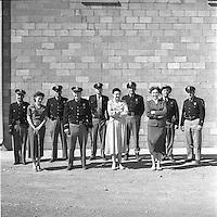 H.S. Police. April, 1956