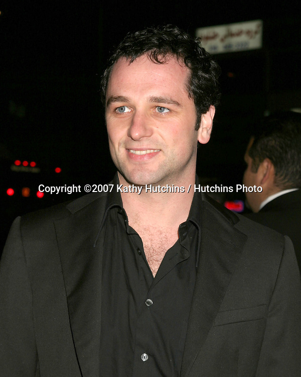 "Matthew Rhys.""TV Set""  Premiere.Crest Theater.Westwood, CA.March 27, 2007.©2007 Kathy Hutchins / Hutchins Photo."