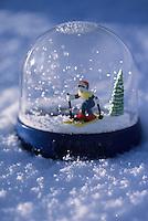 Europe/France/Rhone-Alpes/73/Savoie/Courchevel 1850 : Boule de neige souvenir