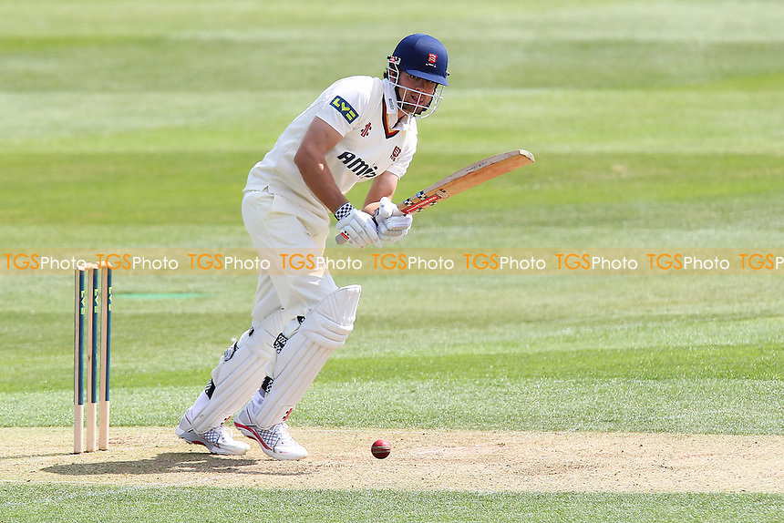 Alastair Cook in batting action for Essex - Essex CCC vs Hampshire CCC - LV County Championship Division Two Cricket at the Essex County Ground, Chelmsford - 30/04/13 - MANDATORY CREDIT: Gavin Ellis/TGSPHOTO - Self billing applies where appropriate - 0845 094 6026 - contact@tgsphoto.co.uk - NO UNPAID USE.