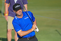 Ryan Palmer (USA) watches his tee shot on 11 during round 1 of the AT&T Byron Nelson, Trinity Forest Golf Club, at Dallas, Texas, USA. 5/17/2018.<br /> Picture: Golffile | Ken Murray<br /> <br /> <br /> All photo usage must carry mandatory copyright credit (© Golffile | Ken Murray)