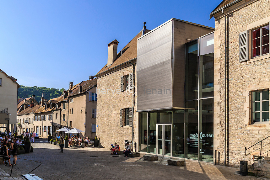 France, Doubs (25, Ornans, le Musée Courbet // France, Doubs, Ornans, Courbet Museum