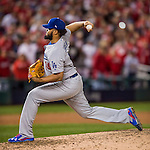 13 October 2016: Los Angeles Dodgers pitcher Kenley Jansen on the mound during the NLDS Game 5 against the Washington Nationals at Nationals Park in Washington, DC. The Dodgers edged out the Nationals 4-3, to take Game 5, and the Series, 3 games to 2, moving on to the National League Championship against the Chicago Cubs. Mandatory Credit: Ed Wolfstein Photo *** RAW (NEF) Image File Available ***