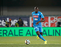 Kalidou Koulibaly  during the  italian serie A soccer match,between Hellas Verona and SSC Napoli  at  the Bentegodi    stadium in Verona  Italy , August 19, 2017