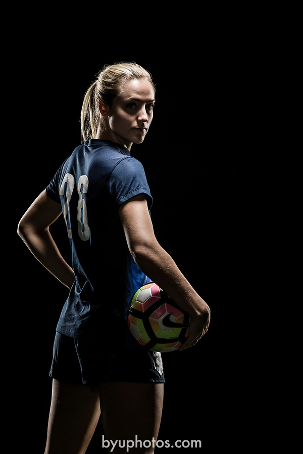 _RE_2737<br /> <br /> 17wSOC Poster Shoot on Black<br /> <br /> April 14, 2017<br /> <br /> Photography by Nate Edwards/BYU<br /> <br /> &copy; BYU PHOTO 2016<br /> All Rights Reserved<br /> photo@byu.edu  (801)422-7322