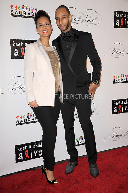WWW.ACEPIXS.COM . . . . . .November 3, 2011, New York City....Alicia Keys and  Swizz Beatz attend the 8th annual Keep A Child Alive Black Ball at the Hammerstein Ballroom on November 3, 2011 in New York City....Please byline: KRISTIN CALLAHAN - ACEPIXS.COM.. . . . . . ..Ace Pictures, Inc: ..tel: (212) 243 8787 or (646) 769 0430..e-mail: info@acepixs.com..web: http://www.acepixs.com .