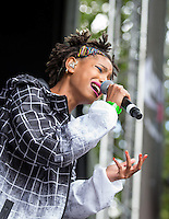 Willow Smith performs during The New Look Wireless Music Festival at Finsbury Park, London, England on Sunday 05 July 2015. Photo by Andy Rowland.