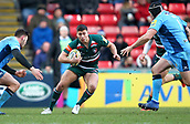 6th January 2018, Welford Road Stadium, Leicester, England; Aviva Premiership rugby, Leicester Tigers versus London Irish; Ben Youngs makes a break for Tigers
