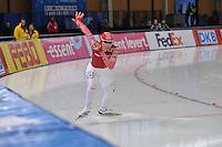 SCHAATSEN: BERLIJN: Sportforum, 06-12-2013, Essent ISU World Cup, Team Russia, 500m Ladies Division B, Yuliya Skokova (RUS), ©foto Martin de Jong