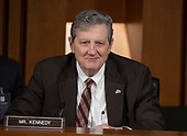 United States Senator John Kennedy (Republican of Louisiana) questions witnesses who are giving testimony  on the nomination of Judge Brett Kavanaugh before the US Senate Judiciary Committee on his nomination as Associate Justice of the US Supreme Court to replace the retiring Justice Anthony Kennedy on Capitol Hill in Washington, DC on Friday, September 7, 2018.<br /> Credit: Ron Sachs / CNP