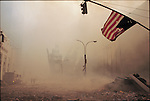 In front of Century 21, Church Street, September 11, 2001...2001 © Frank FOURNIER / CONTACT Press Images