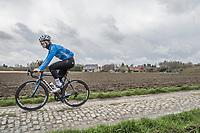 Michaël Goolaerts (BEL/Veranda's Willems-Crelan) during recon of the 116th Paris - Roubaix 2018