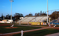 Ballparks: Stockton, CA. Billy Hebert Field, August 1992. Light crowd!