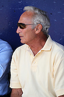 Sandy Koufax in the dugout before a New York Mets exhibition game vs. the Michigan Wolverines at Digital Domain Ballpark in Port St Lucie, Florida;  February 27, 2011.  New York defeated Michigan 7-1.  Photo By Mike Janes/Four Seam Images