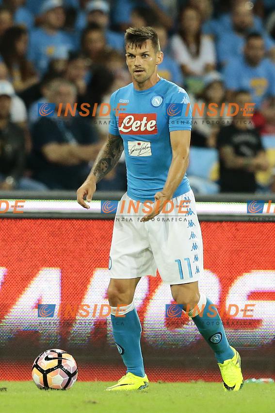 Christian Maggio Napoli,  <br /> Napoli 24-09-2016 Stadio San Paolo<br /> Football Calcio Serie A 2016/2017 Napoli - Chievo<br /> Foto Cesare Purini / Insidefoto
