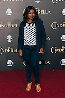 "Octavia Spencer at Premiere of Disney's ""Cinderella"" at El Capitan in Hollywood, CA (Photo by Tiffany Chien/Guest Of A Guest)"