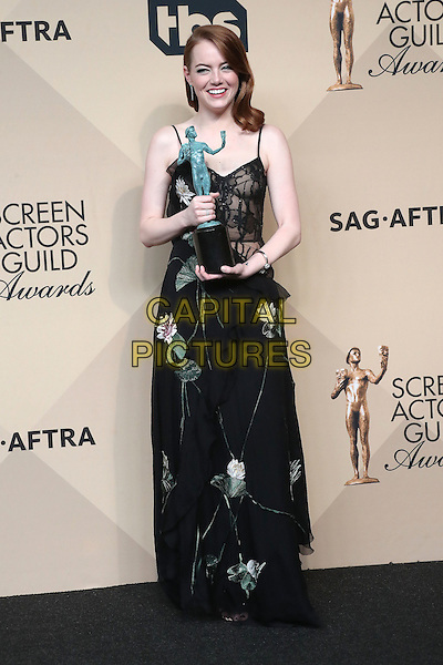 29 January 2017 - Los Angeles, California - Emma Stone. 23rd Annual Screen Actors Guild Awards held at The Shrine Expo Hall. <br /> CAP/ADM/FS<br /> &copy;FS/ADM/Capital Pictures
