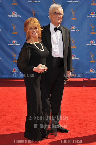 Ann-Margret & Roger Smith at the 2010 Primetime Emmy Awards at the Nokia Theatre L.A. Live in downtown Los Angeles..August 29, 2010  Los Angeles, CA.Picture: Paul Smith / Featureflash
