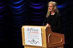 WASHINGTON, DC - NOVEMBER 14: Annie Leibovitz speaks at the National Women's History Museum during the de Pizan Honors ceremony before receiving the Dorothea Lange Living Legacy Award on November 14, 2012 in Washington, DC. Lange was an influential American photojournalist best known for her work for the Farm Security Administration whose works helped humanize the consequences of the Great Depression and influenced the development of documentary photography. (Photo by Larry French/Getty Images) *** Local Caption *** Annie Leibovitz