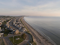 Nantasket beach, Hull, MA aerial