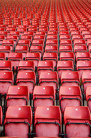 Empty Seats at the stadium prior to the Premier League match between Southampton and Swansea City  at St Mary's Stadium in Southampton, England, UK. Saturday 17 September 2016