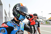 17th March 2018, Losail International Circuit, Lusail, Qatar; Qatar Motorcycle Grand Prix, Saturday qualifying; Aron Canet (Estrella Galicia) during free practice
