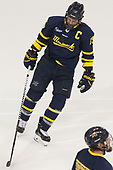 Jared Kolquist (Merrimack - 15) - The visiting Merrimack College Warriors defeated the Boston University Terriers 4-1 to complete a regular season sweep on Friday, January 27, 2017, at Agganis Arena in Boston, Massachusetts.The visiting Merrimack College Warriors defeated the Boston University Terriers 4-1 to complete a regular season sweep on Friday, January 27, 2017, at Agganis Arena in Boston, Massachusetts.
