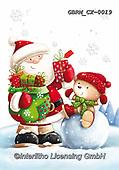 Roger, CHRISTMAS SANTA, SNOWMAN, WEIHNACHTSMÄNNER, SCHNEEMÄNNER, PAPÁ NOEL, MUÑECOS DE NIEVE, paintings+++++,GBRMCX-0019,#x#