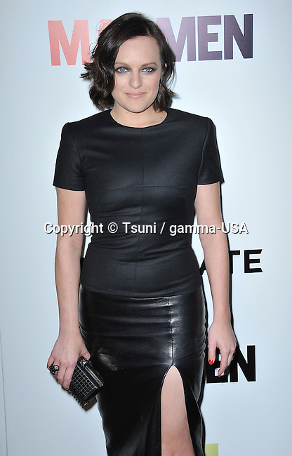 Elisabeth Moss  at the Mad Men Final Season Premiere at the Arclight Theatre in Los Angeles.