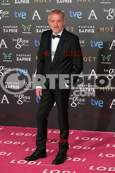 Jordi Rebello attend the 2015 Goya Awards at Auditorium Hotel, Madrid,  Spain. February 07, 2015.(ALTERPHOTOS/)Carlos Dafonte) /NORTEphoto.com