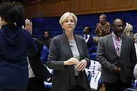 DURHAM, NC - JANUARY 26: Head coach Nell Fortner of Georgia Tech during a game between Georgia Tech and Duke at Cameron Indoor Stadium on January 26, 2020 in Durham, North Carolina.