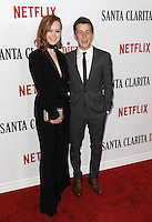 www.acepixs.com<br /> <br /> February 1 2017, LA<br /> <br /> Liv Hewson and Skyler Gisondo arriving at the premiere Of Netflix's 'Santa Clarita Diet' at the ArcLight Cinemas Cinerama Dome on February 1, 2017 in Hollywood, California<br /> <br /> By Line: Peter West/ACE Pictures<br /> <br /> <br /> ACE Pictures Inc<br /> Tel: 6467670430<br /> Email: info@acepixs.com<br /> www.acepixs.com