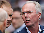 Sven Goran Eriksson pleased to make his debut as a premiership manager