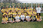 4-29-15, Huron High School girl's junior varsity tennis team